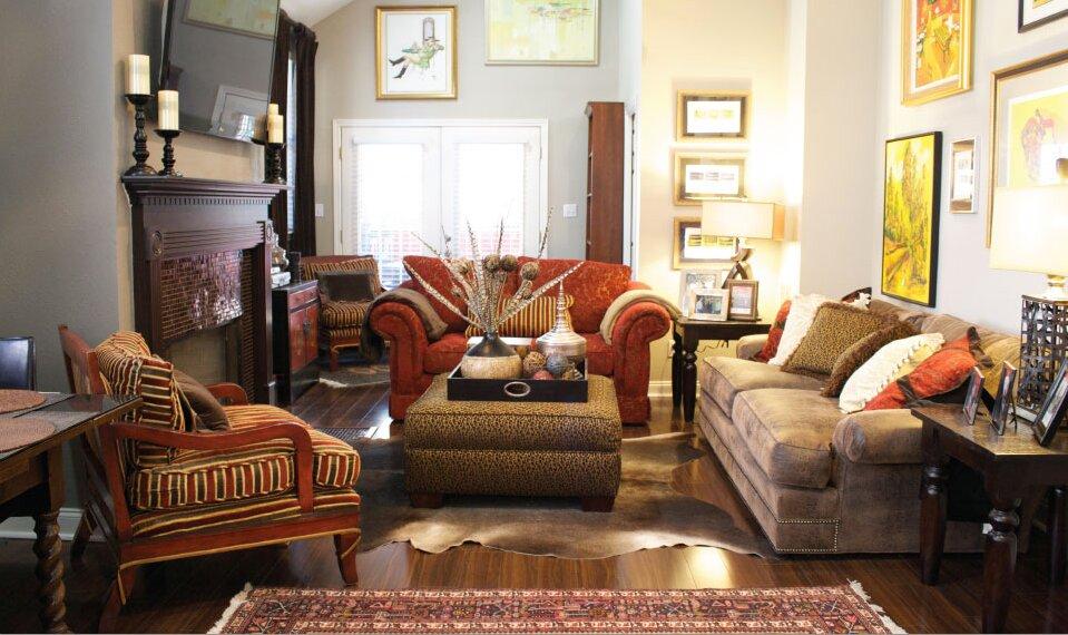Esther LaVonne Design Traditional Living Room design