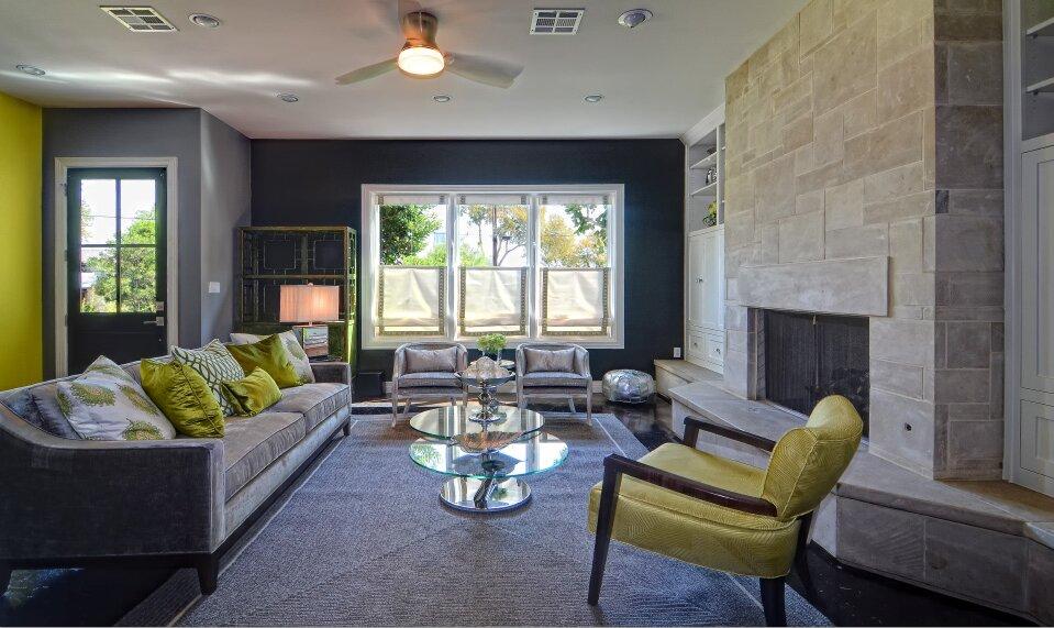 Esther LaVonne Design Contemporary Living Room design