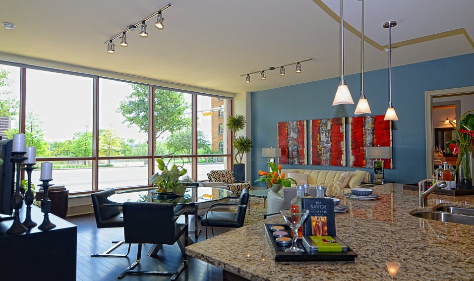 Esther LaVonne Design Eclectic Dining Room design