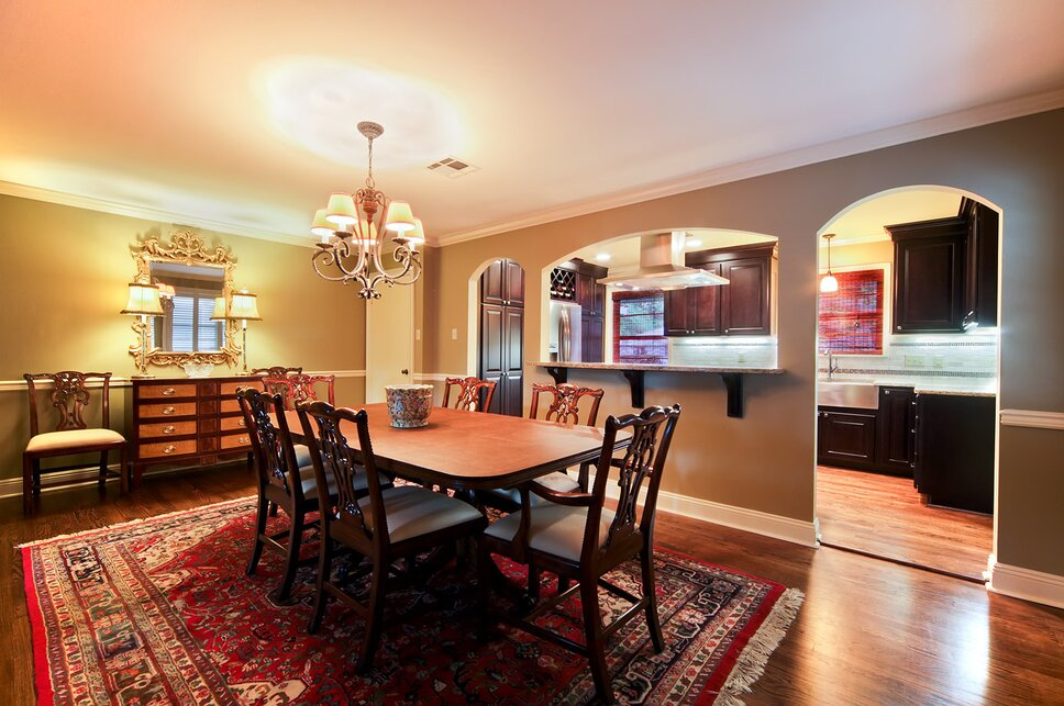 Red River Remodelers Traditional Dining Room design