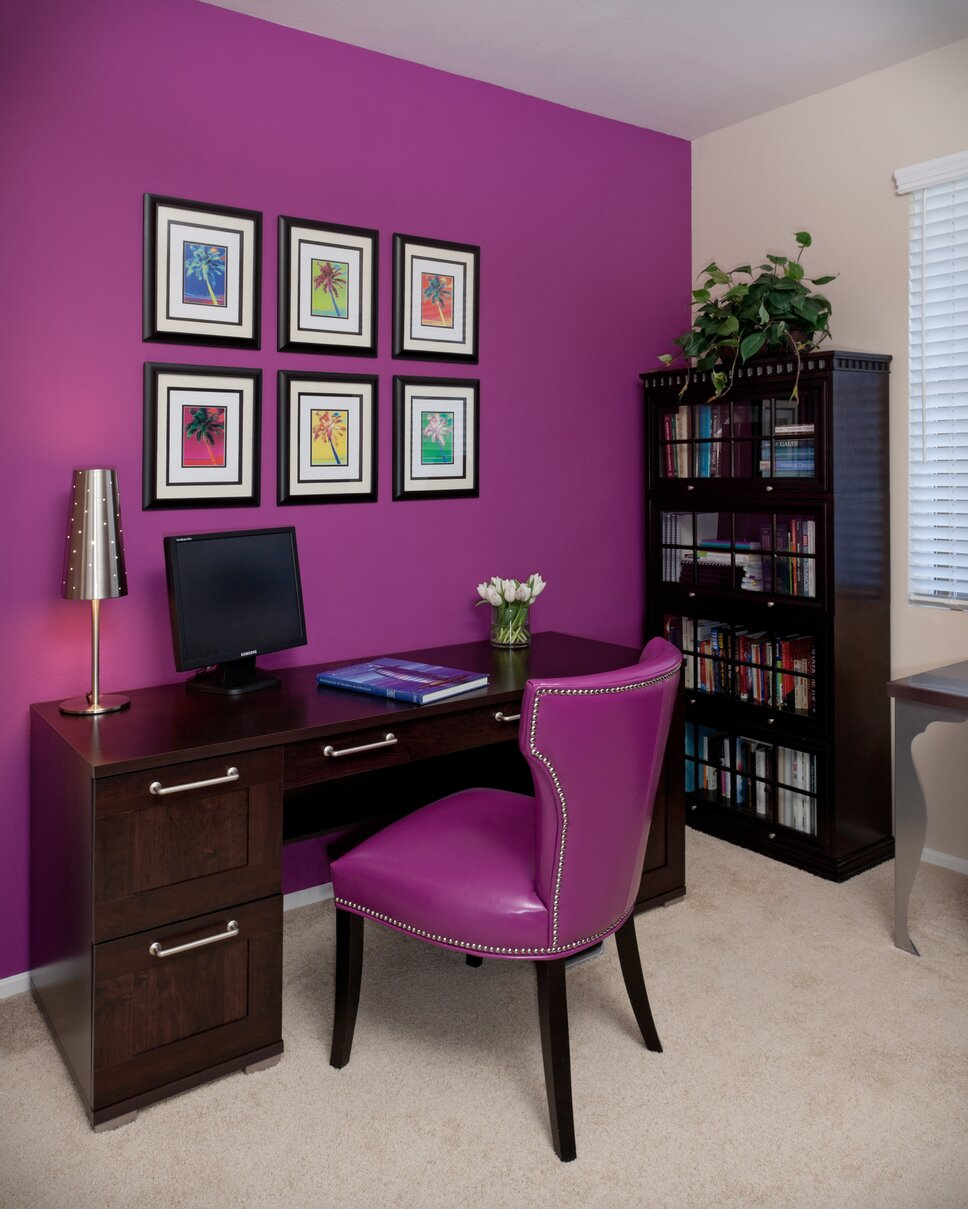 Lynch Design Group, Bob Naik Photography Contemporary Home Office design