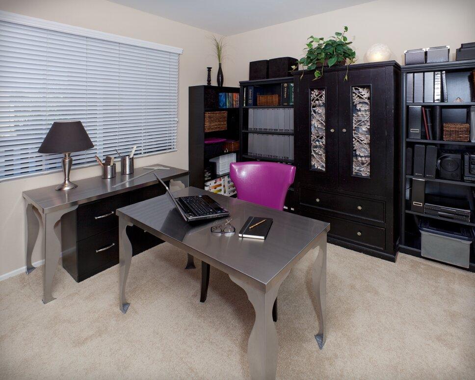 Lynch Design Group, Bob Naik Photography Contemporary Home Office design