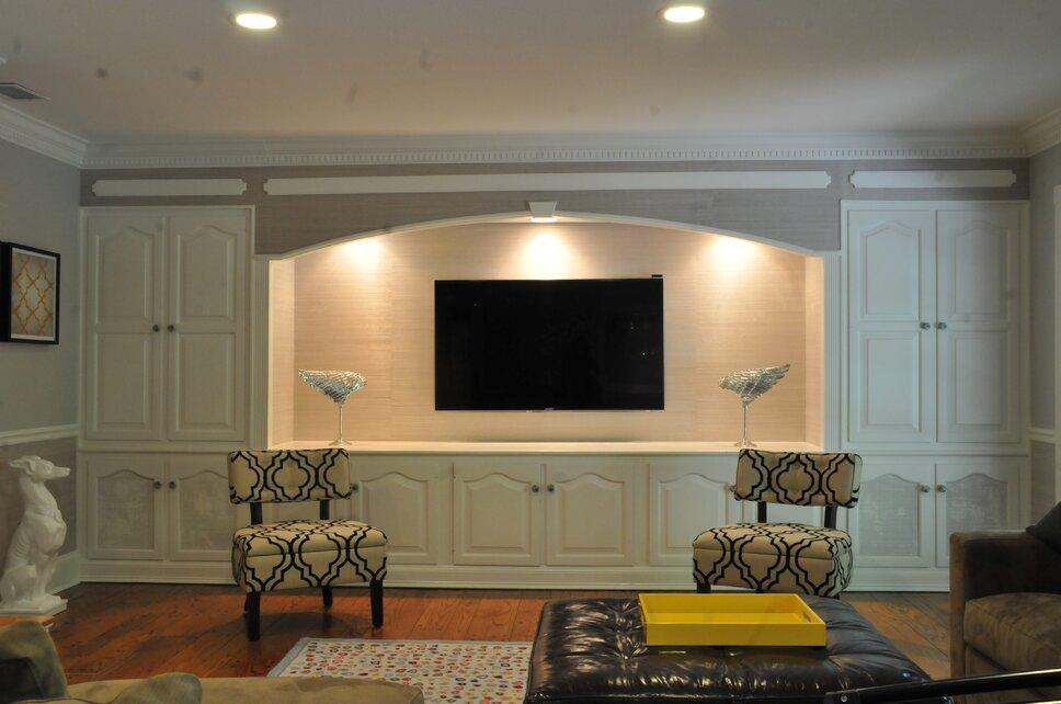 Contemporary Rec Rooms design