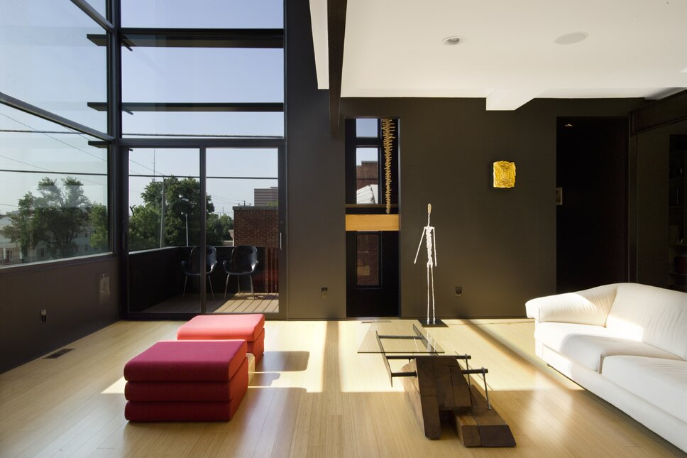 Photo by Joseph Mills Photography Modern Living Room design