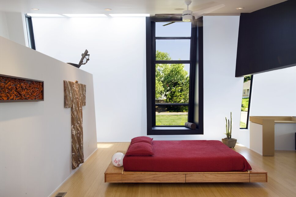 Photo by Joseph Mills Photography Modern Bedroom design