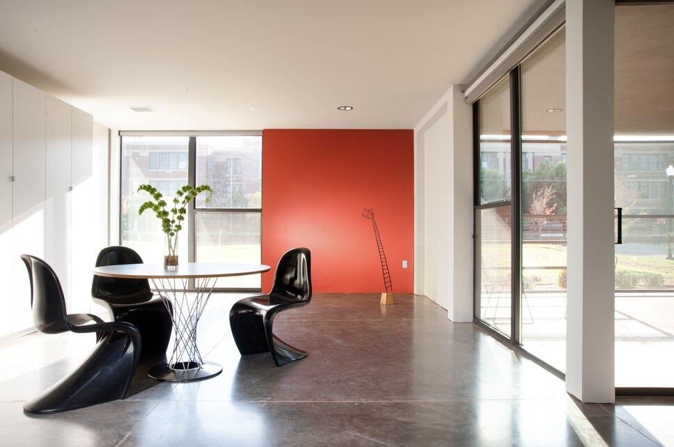 Photo by Joseph Mills Photography Modern Dining Room design