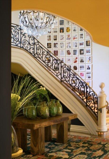 Photo VERTIKOFF Eclectic Entryway & Hallway design