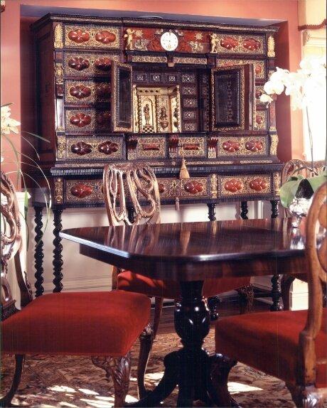 Photo Tim Street Porter Eclectic Dining Room design