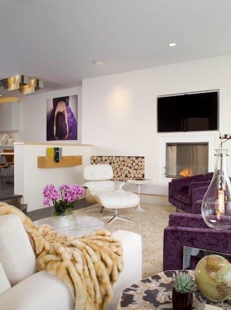 Photo KenHayden.com Contemporary Living Room design