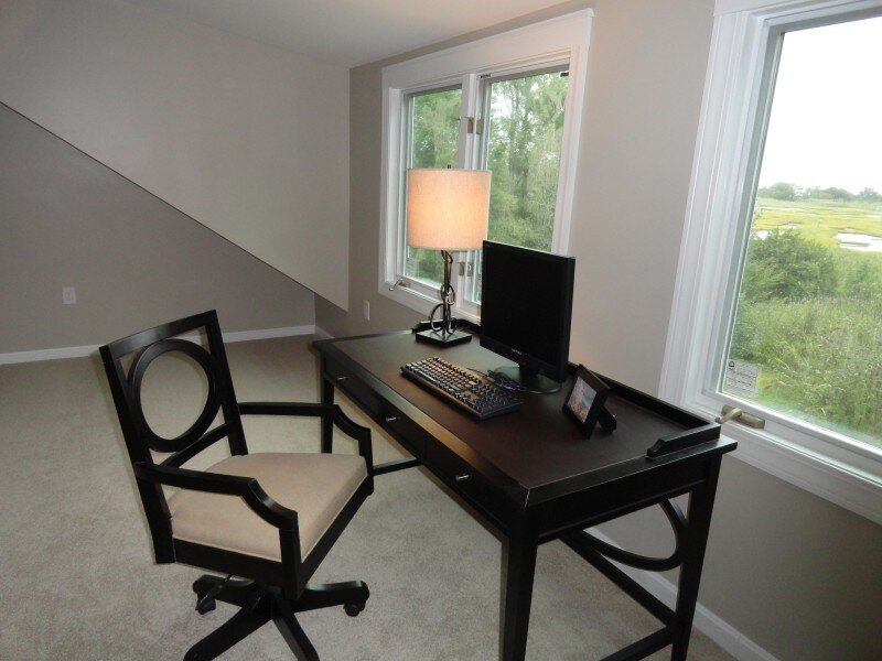 photos taken by Arranged To Sell, LLC Traditional Home Office design