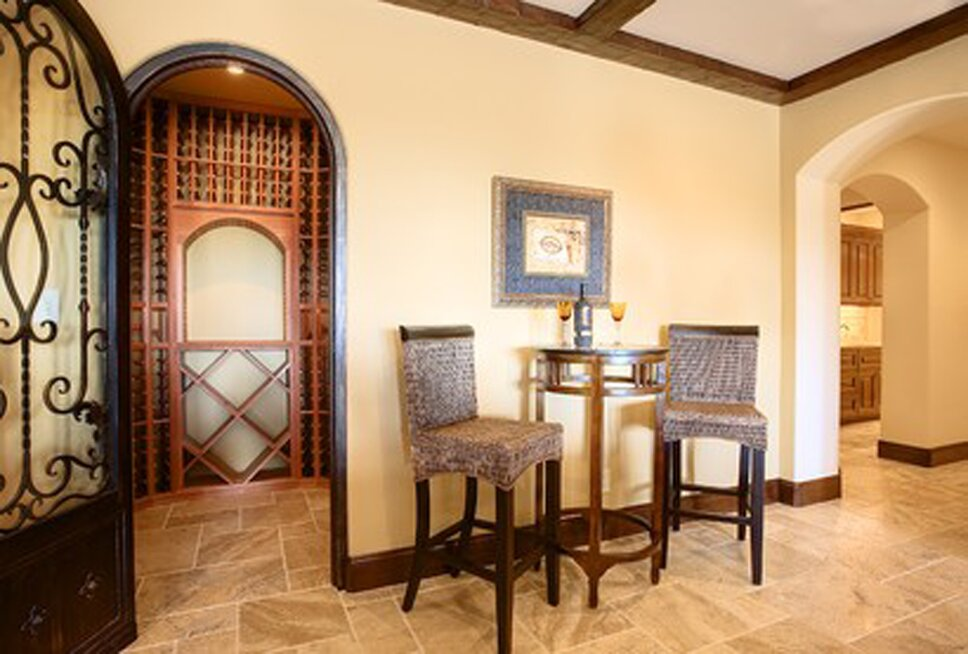 Traditional Rec Rooms design