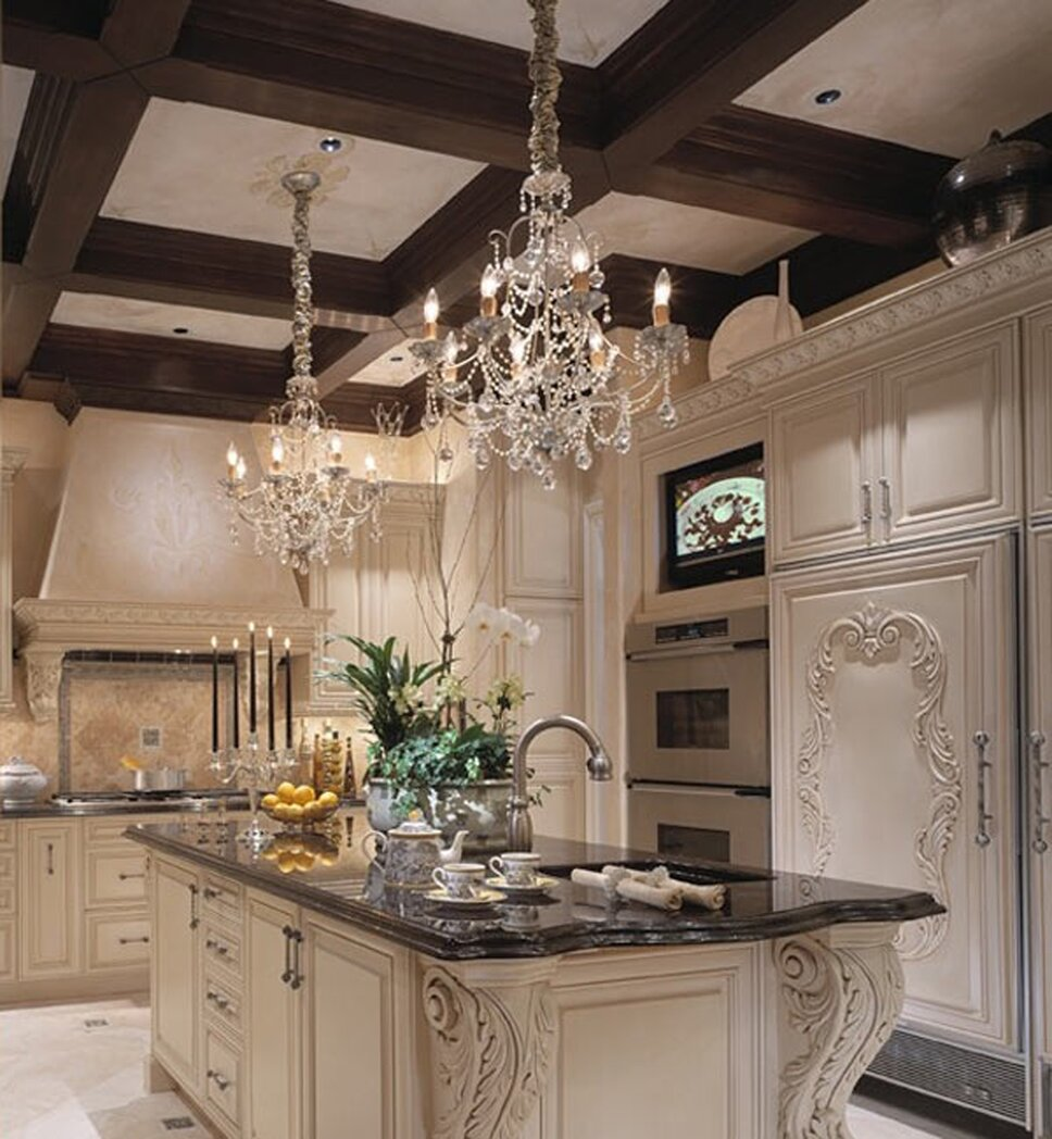 Photography by Martin King Traditional Kitchen design