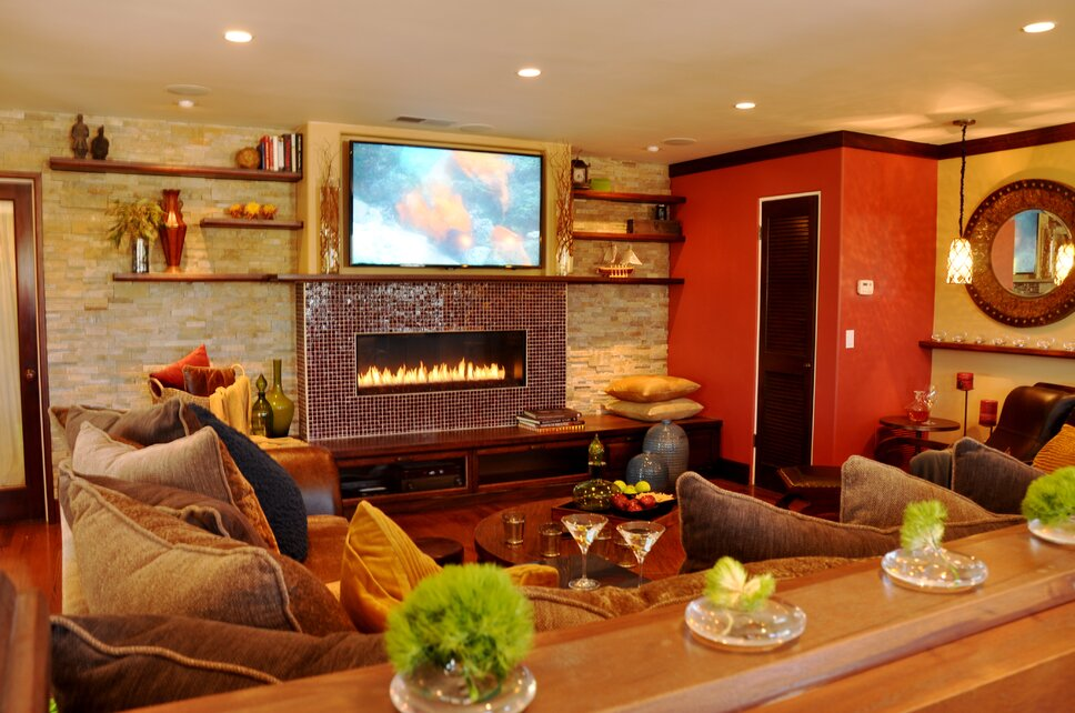 Michael Chambers Design, LLC Contemporary Living Room design