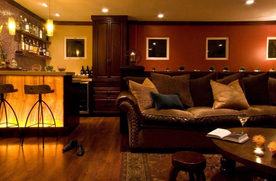 Michael Chambers Design, LLC Contemporary Living Room design
