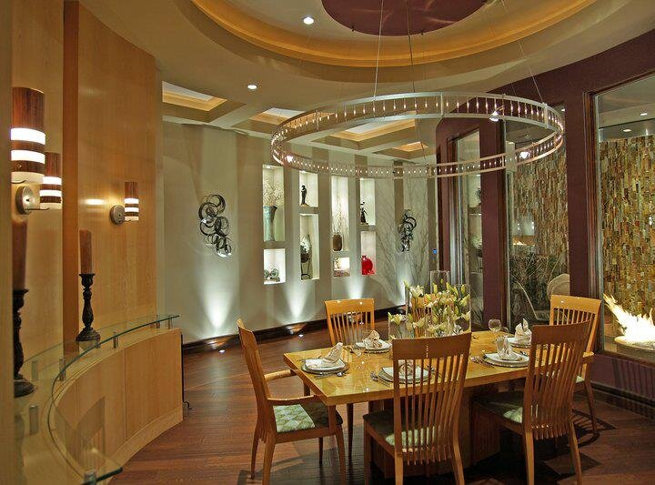 Michael Chambers Design, LLC Contemporary Dining Room design