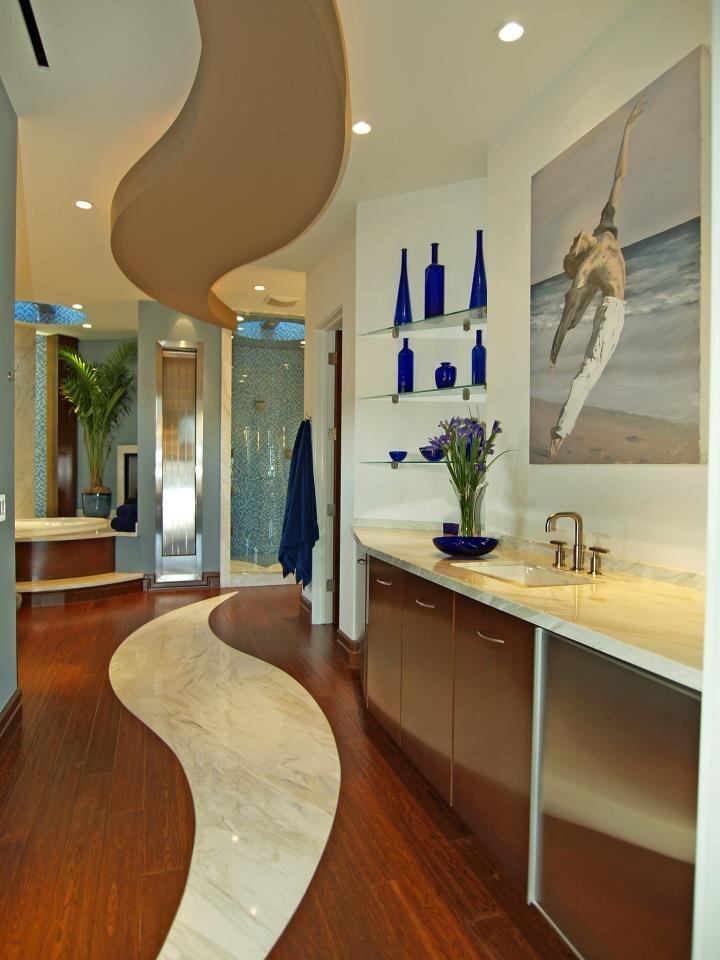 Michael Chambers Design, LLC Contemporary Bathroom design