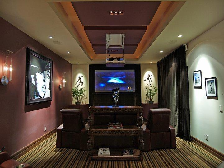 Michael Chambers Design, LLC Eclectic Rec Rooms design