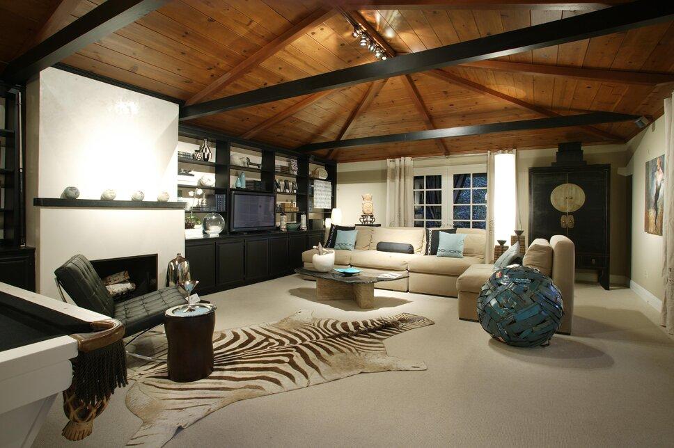 Eclectic Living Room design