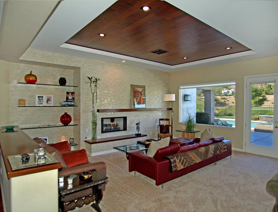 Michael Chambers Design, LLC Eclectic Living Room design