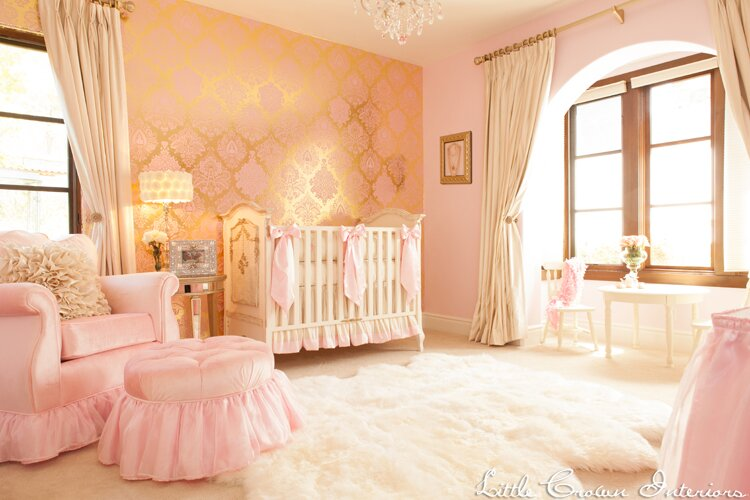 Nursery Design by Little Crown Interiors