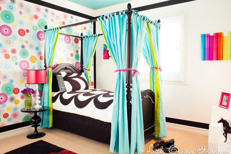 Design by Little Crown Interiors Photo by Full Spectrum Photography Eclectic Kids design
