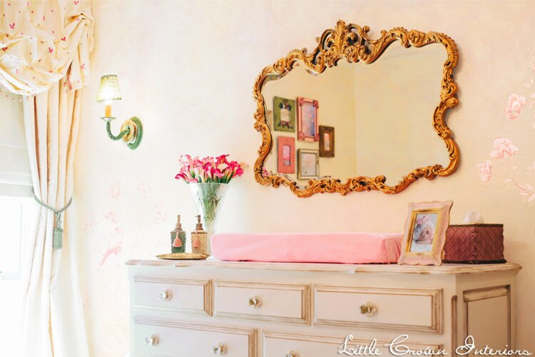 Nursery Design by Little Crown Interiors Photo by Full Spectrum Photography Traditional Nursery design