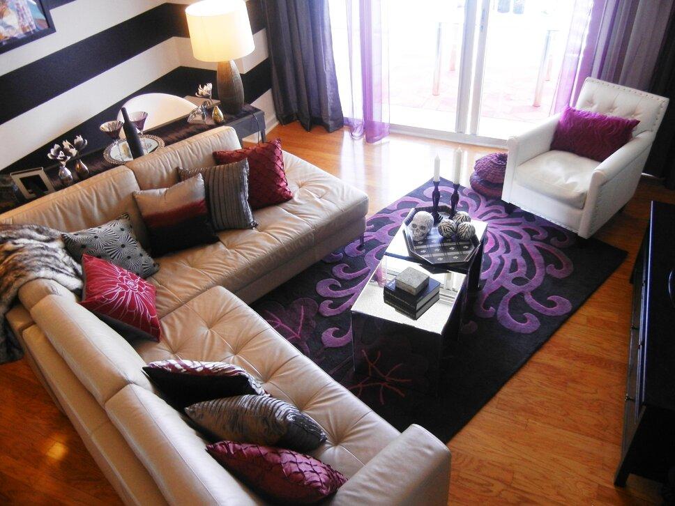 Concept 2 Design Eclectic Living Room design