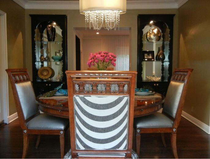 Concept 2 Design Eclectic Dining Room design