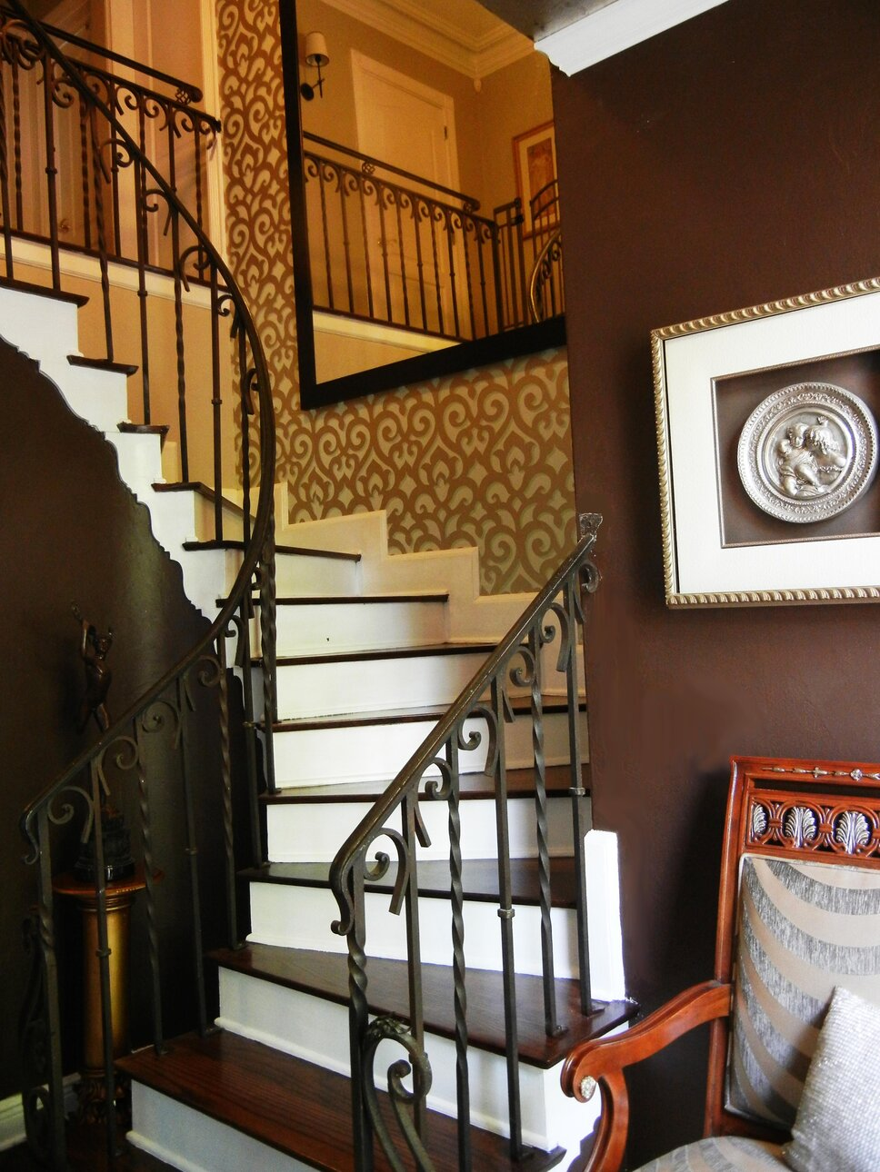 Concept 2 Design Eclectic Entryway & Hallway design