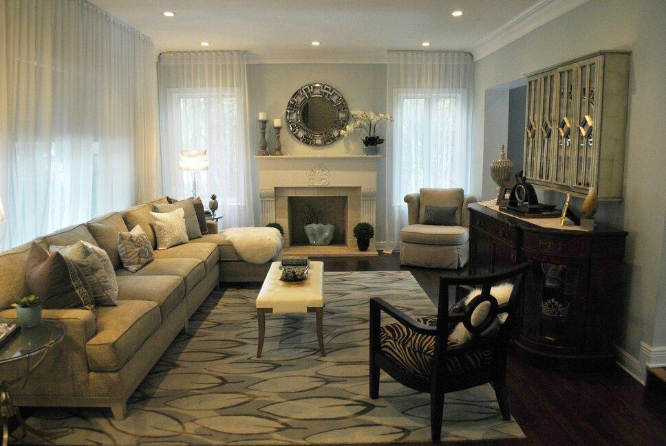 Concept 2 Design Contemporary Living Room design