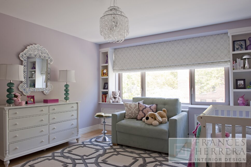 Glam Nursery design