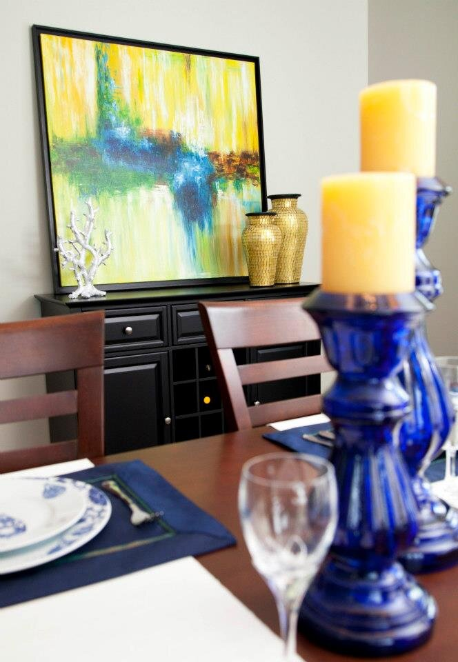 Photographer  Laurie Gail Hamelin, Lilipad Creative Contemporary Dining Room design