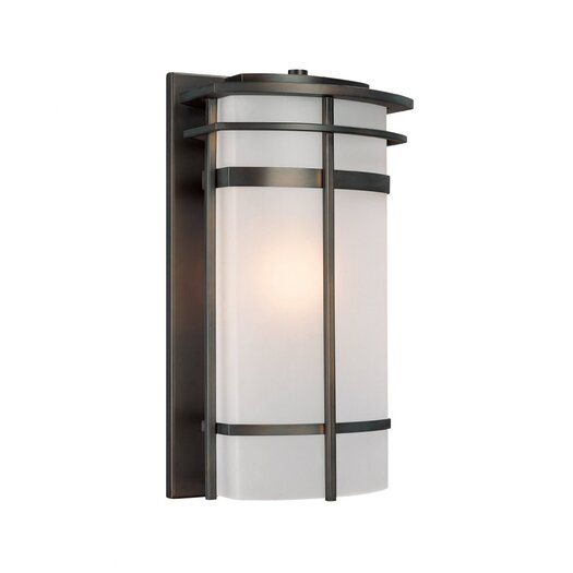 Capital Lighting Lakeshore 1 Light Outdoor Sconce