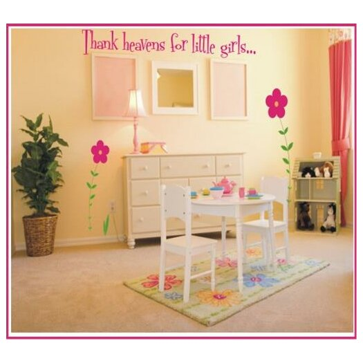 Thank Heavens For Little Girls / Boys Wall Decal