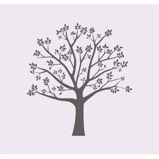 Alphabet Garden Designs Blossoming Tree II Wall Decal