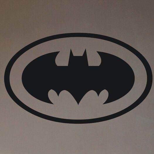 Alphabet Garden Designs Personalized Batman Wall Decal