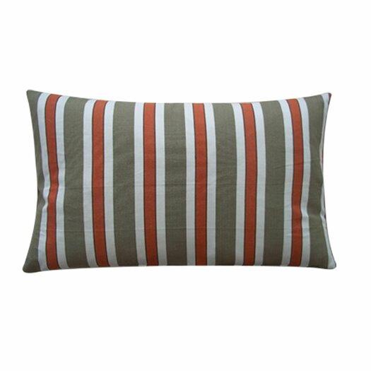 Jiti Funstripes Linen Lumbar Pillow