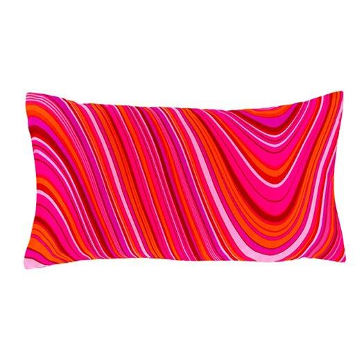 Jiti Psychedelic Silk Lumbar Pillow