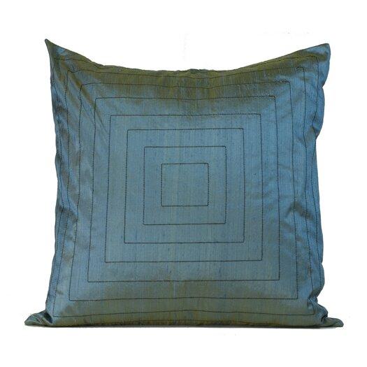 Jiti Pyramide Silk Throw Pillow
