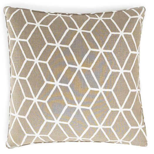 Jiti Bethe Tile Linen Throw Pillow
