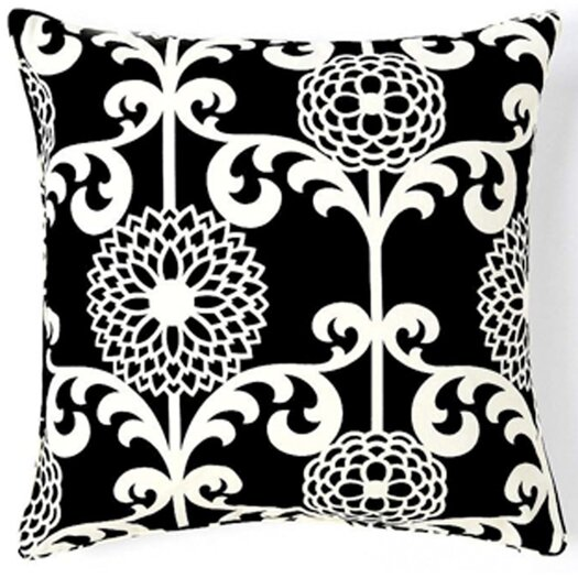 Jiti Floret Silk Throw Pillow