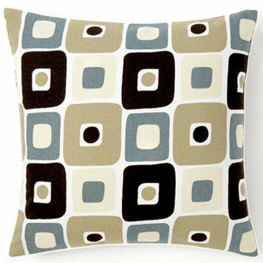 Jiti Geo Cotton Throw Pillow
