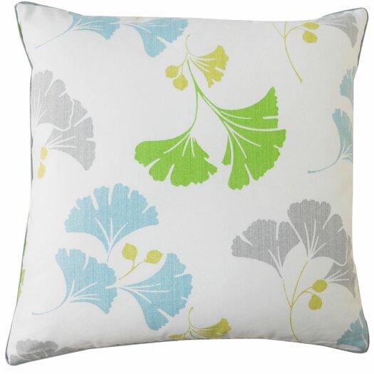 Jiti Gingko Cotton Throw Pillow
