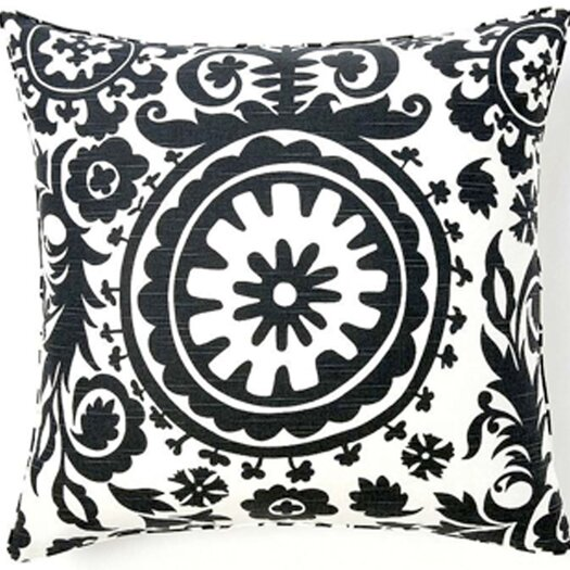 Jiti Suzani African Cotton Throw Pillow