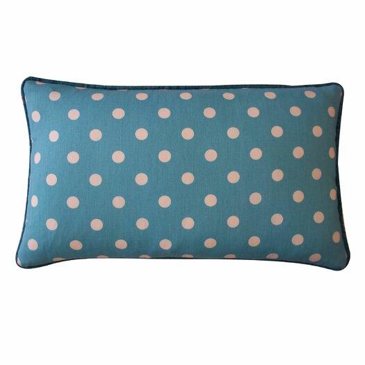 Jiti Dot Cotton Lumbar Pillow