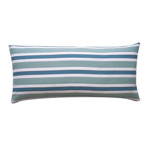 Jiti Fun Stripe Cotton Lumbar Pillow