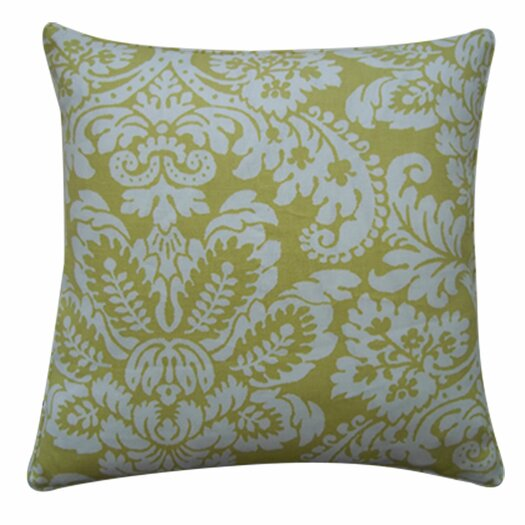 Jiti Hibiscus Linen Throw Pillow