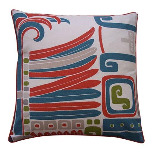 Jiti Kaleidoscope Cotton Throw Pillow