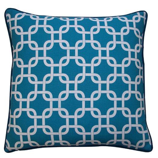 Jiti Links Cotton Throw Pillow