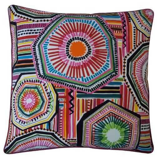 Jiti Native Cotton Throw Pillow